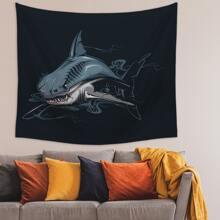 Shark Print Tapestry