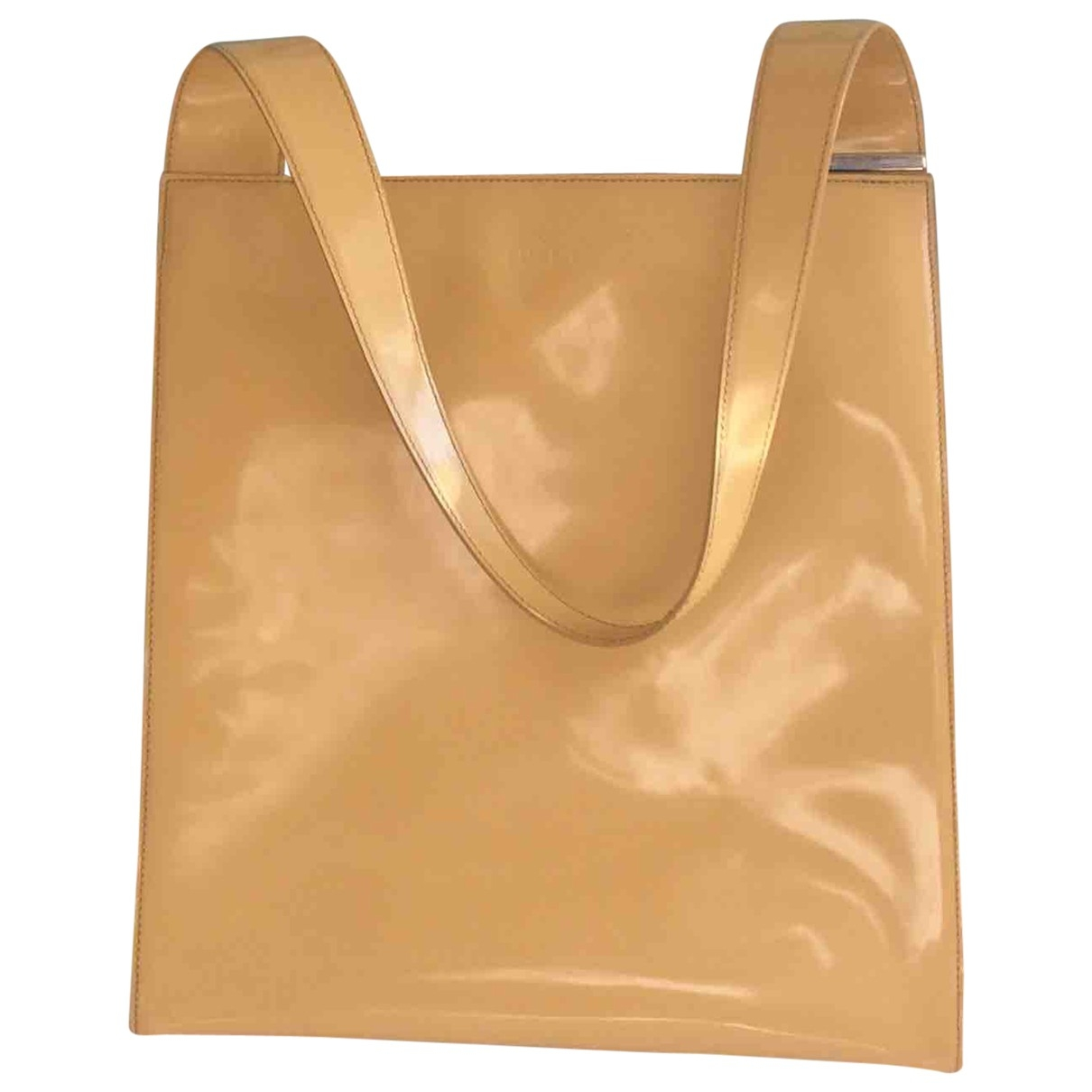 Furla \N Yellow Patent leather handbag for Women \N