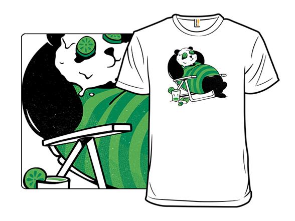 Summer Panda T Shirt
