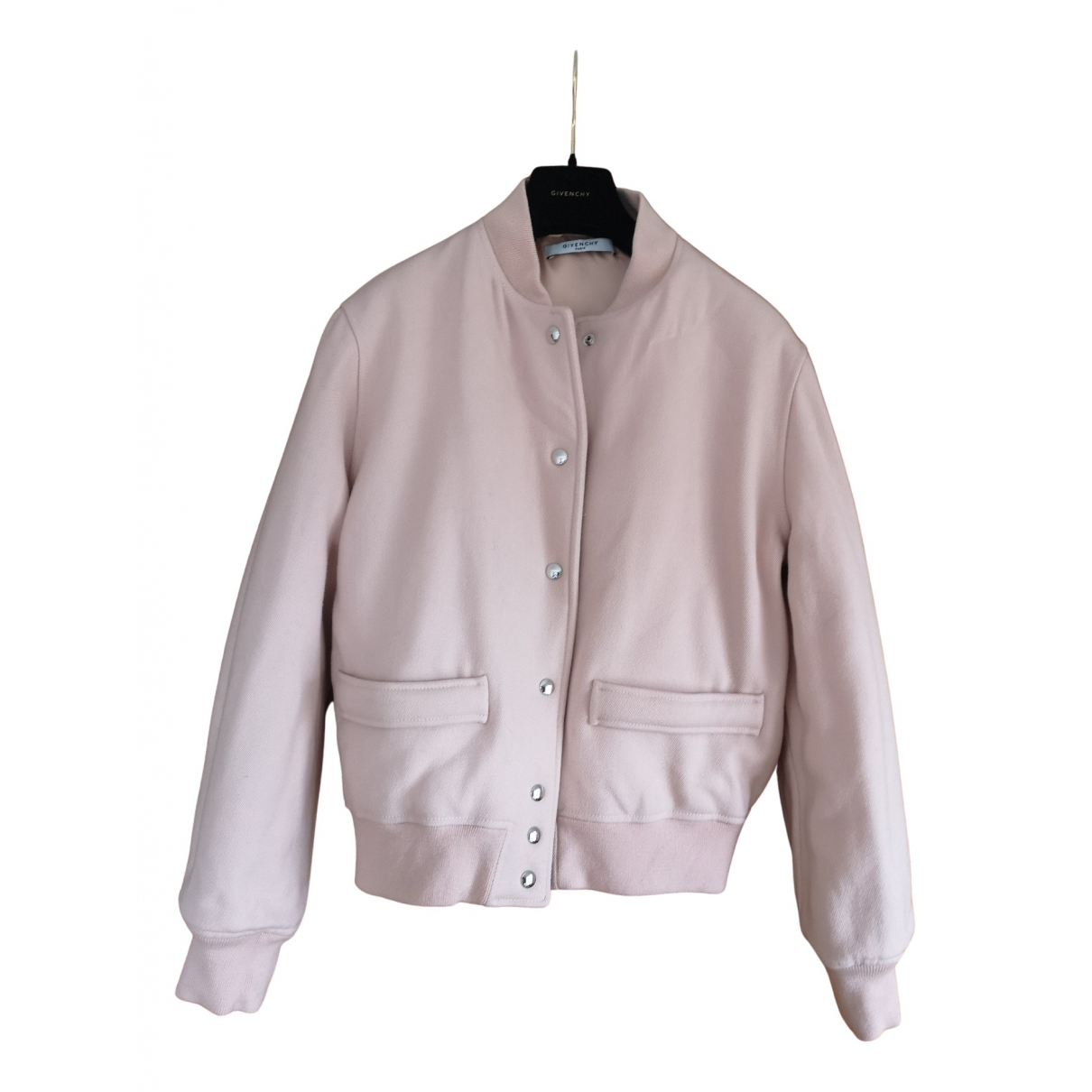 Givenchy \N Maentel in  Rosa Wolle
