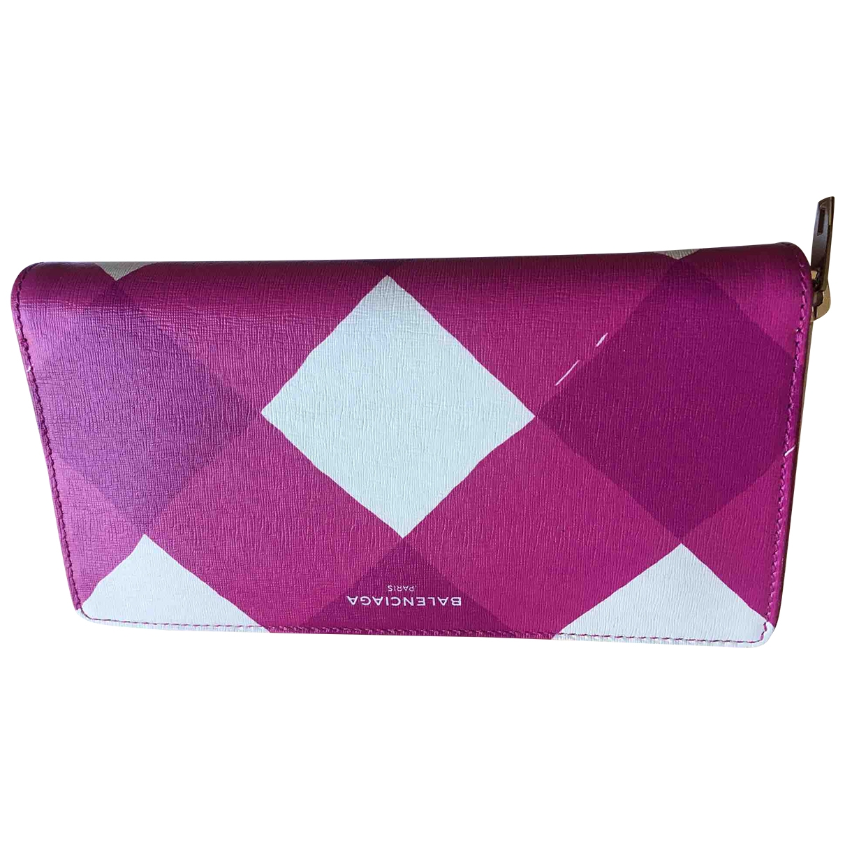 Balenciaga \N Pink Leather wallet for Women \N