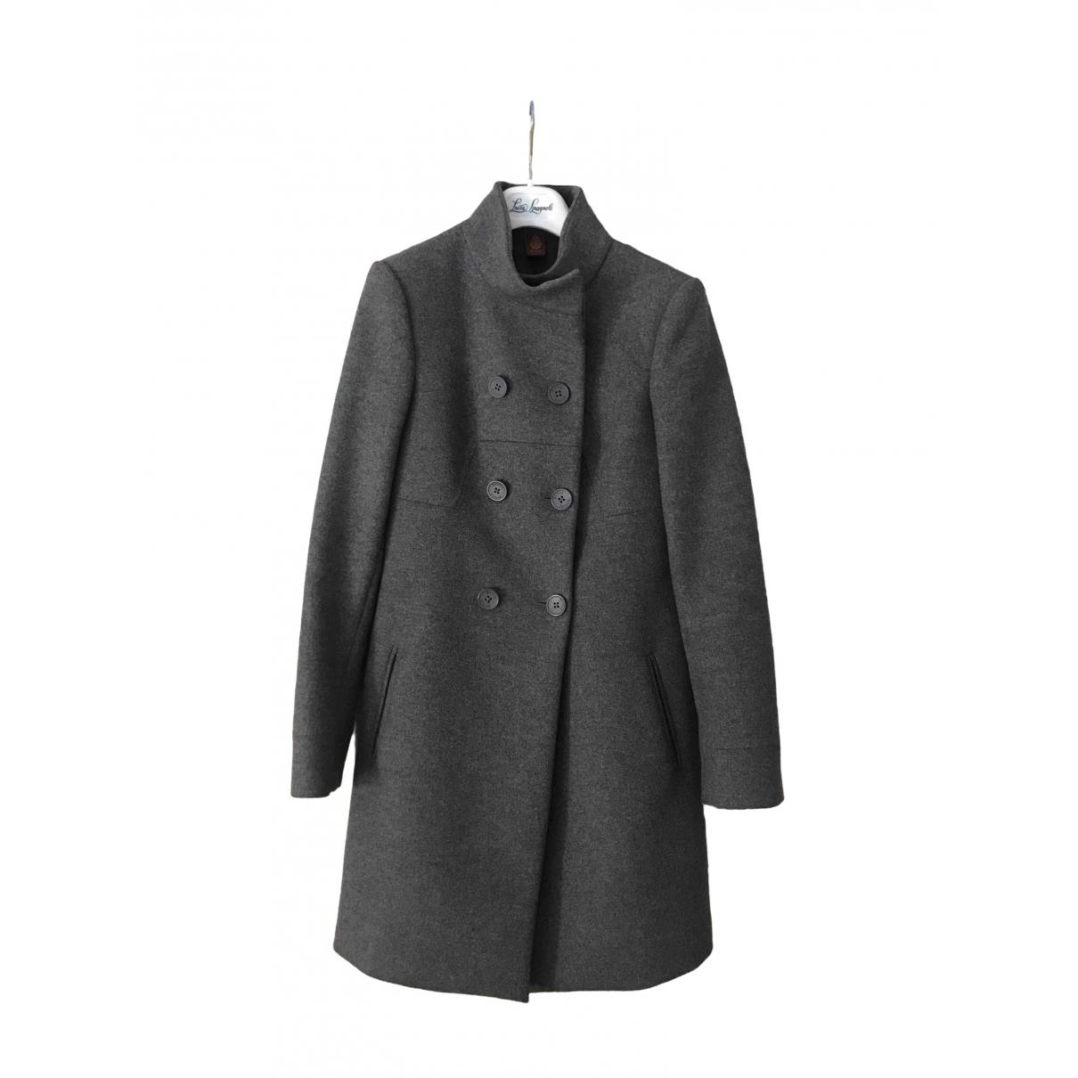 Dondup - Manteau   pour femme en laine - gris