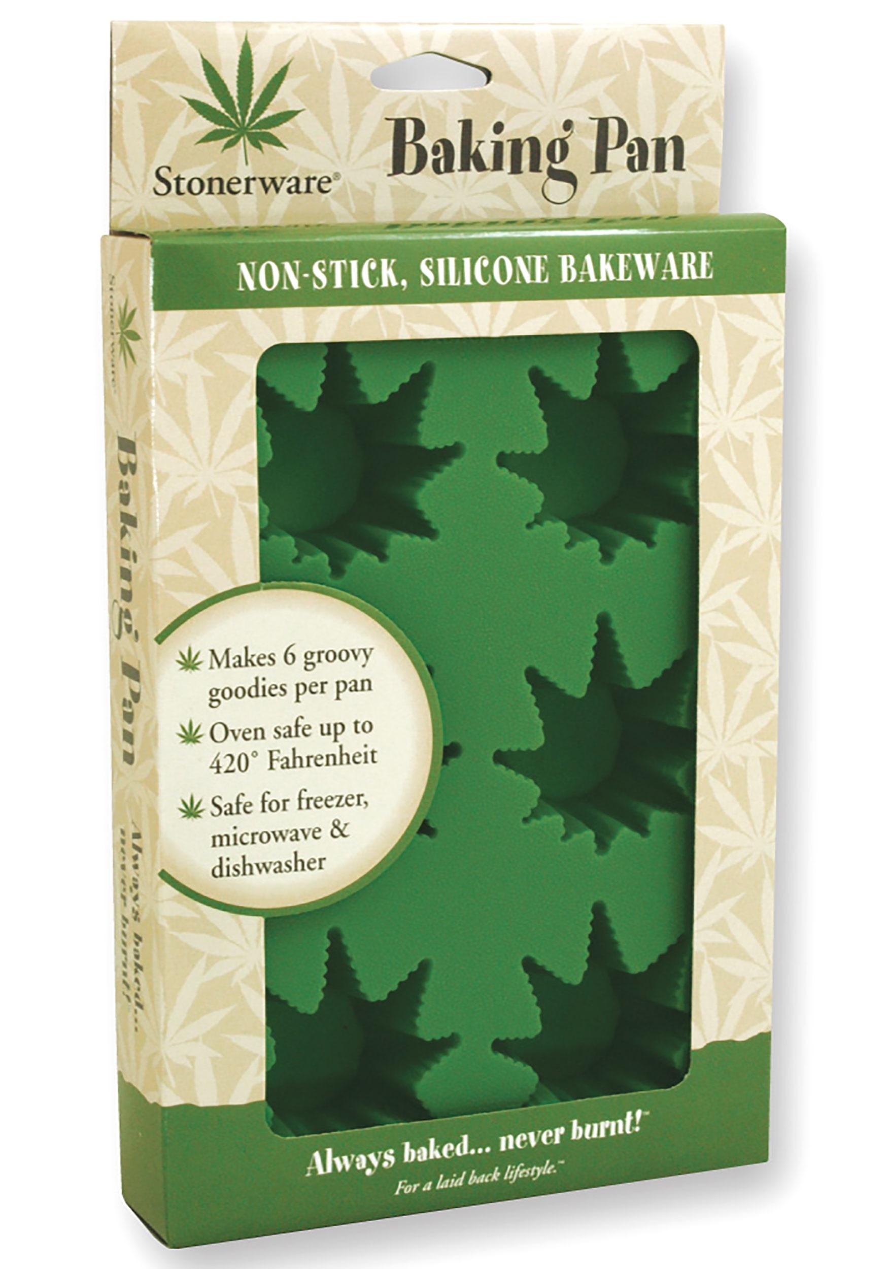 Stonerware Weed Shaped Baking Pan