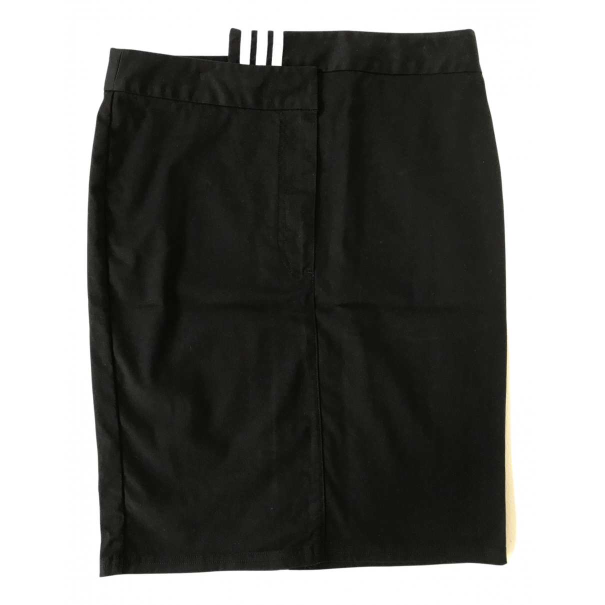 Y-3 By Yohji Yamamoto \N Black Cotton - elasthane skirt for Women 40 FR