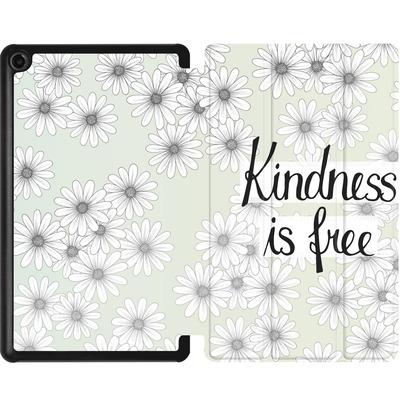 Amazon Fire 7 (2017) Tablet Smart Case - Kindness is Free von Barlena