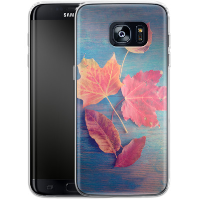 Samsung Galaxy S7 Edge Silikon Handyhuelle - The Colors Of Autumn von Joy StClaire