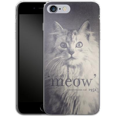 Apple iPhone 6 Plus Silikon Handyhuelle - Famous Quote Cat von Florent Bodart