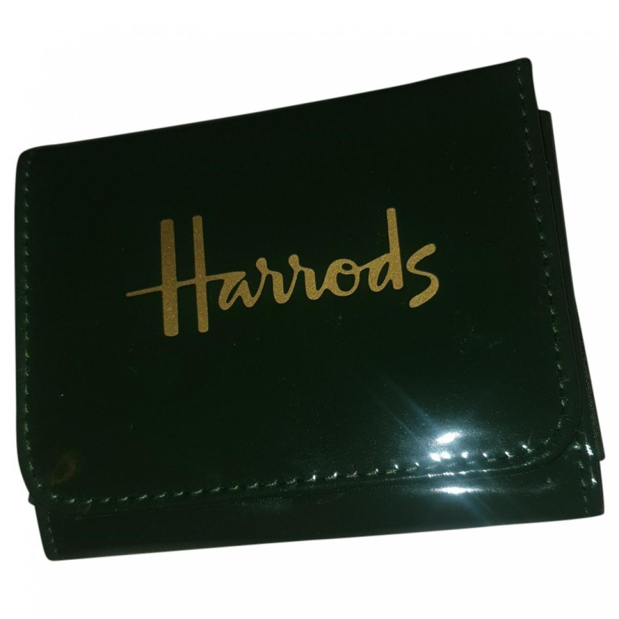 Harrods \N Portemonnaie in  Gruen Kunststoff