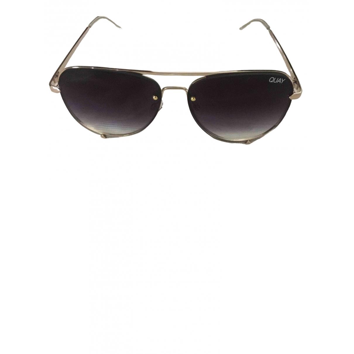 Quay \N Metal Sunglasses for Women \N