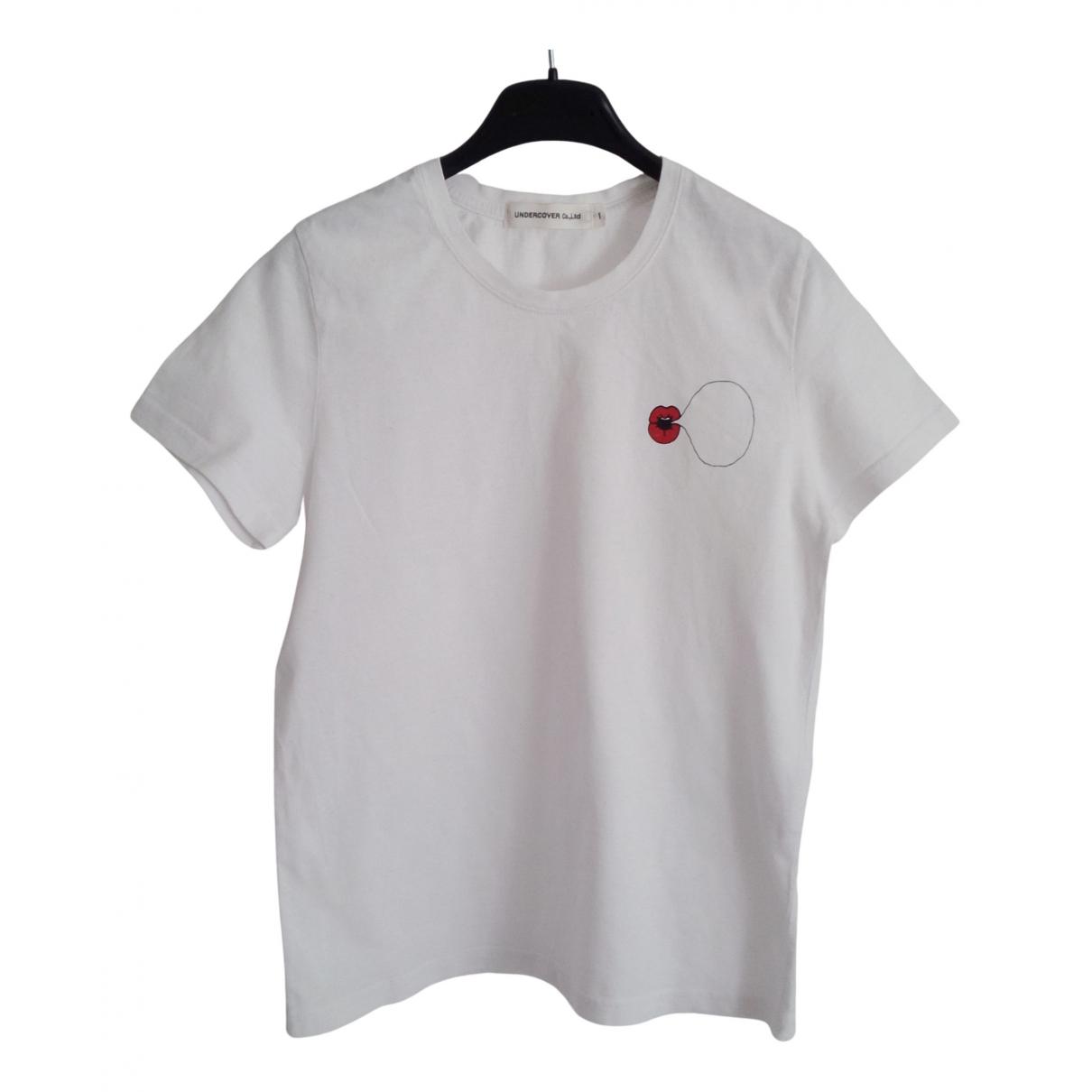 Undercover - Top   pour femme en coton - blanc