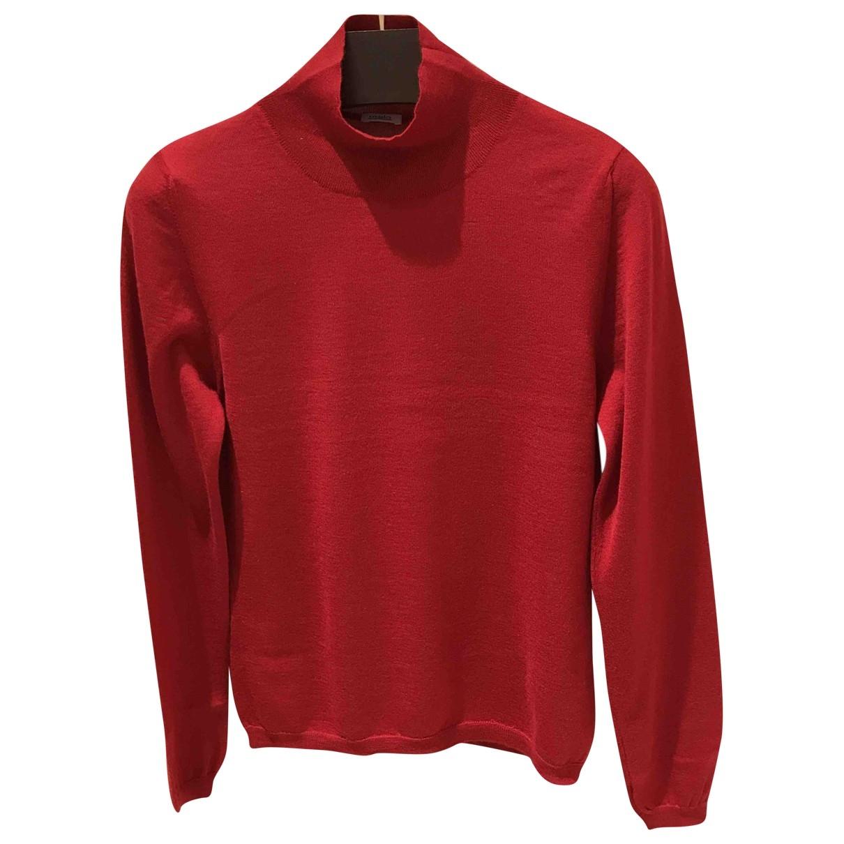 Malo \N Red Cashmere Knitwear for Women 40 IT