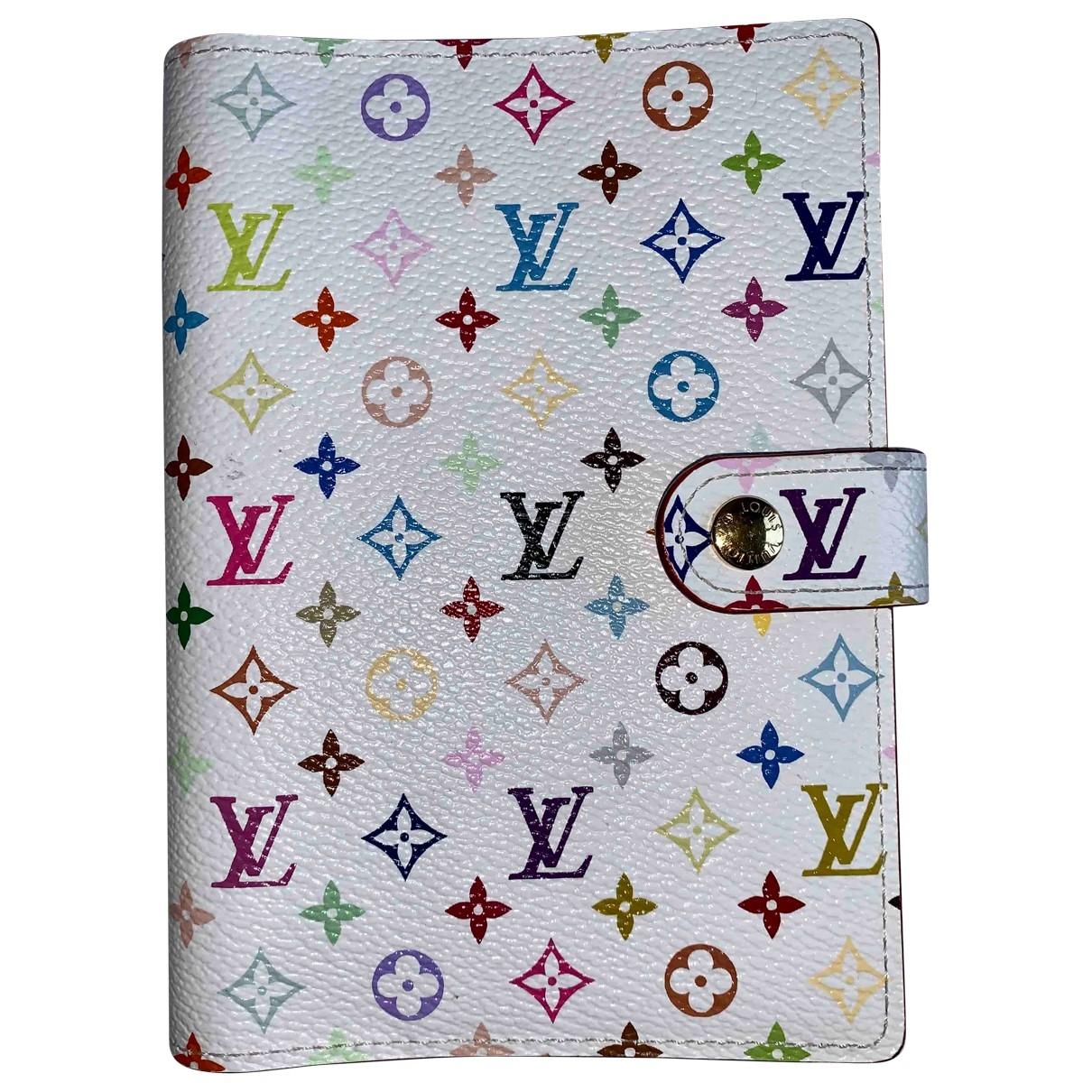 Louis Vuitton - Objets & Deco Couverture dagenda PM pour lifestyle en toile - multicolore
