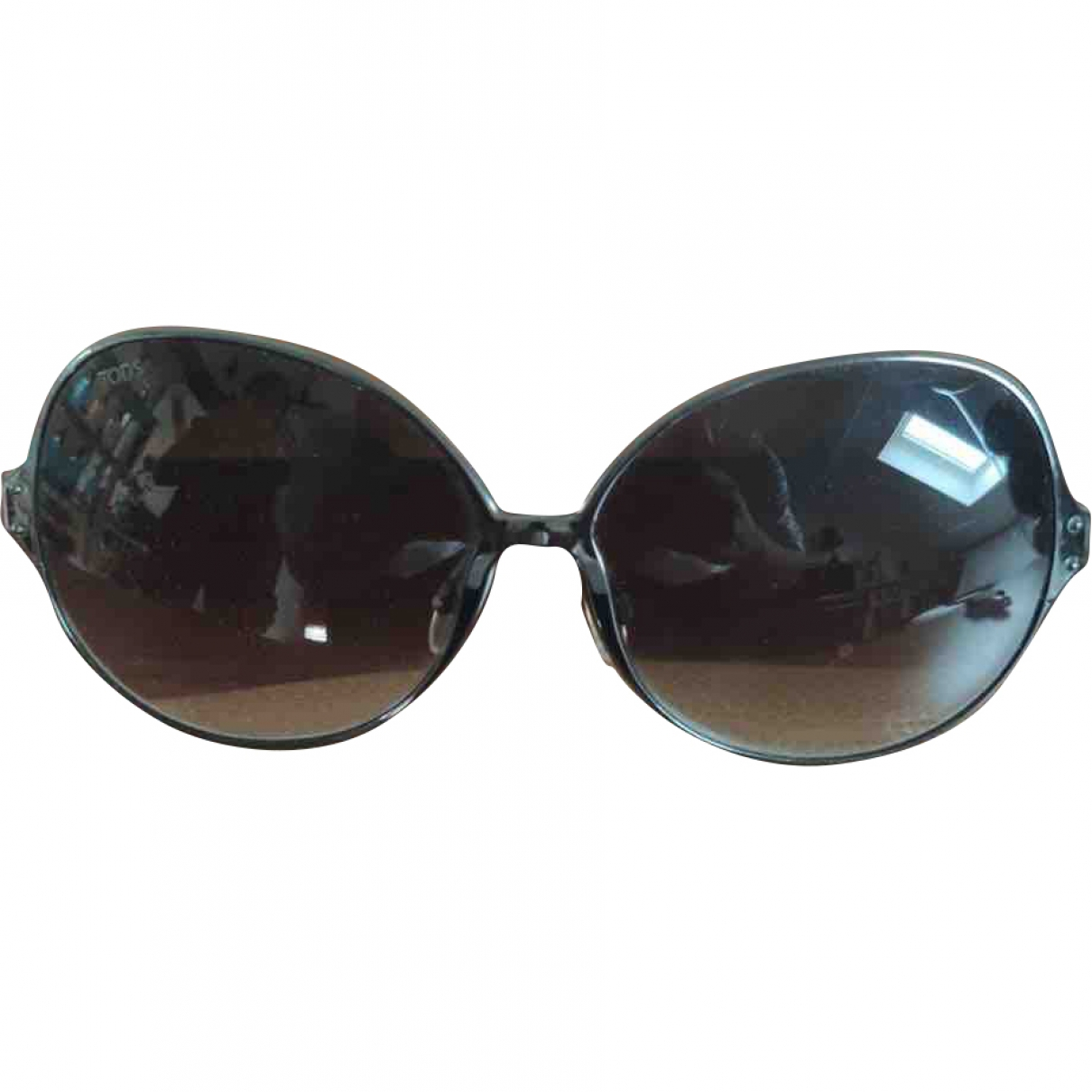 Tod's \N Anthracite Metal Sunglasses for Women \N