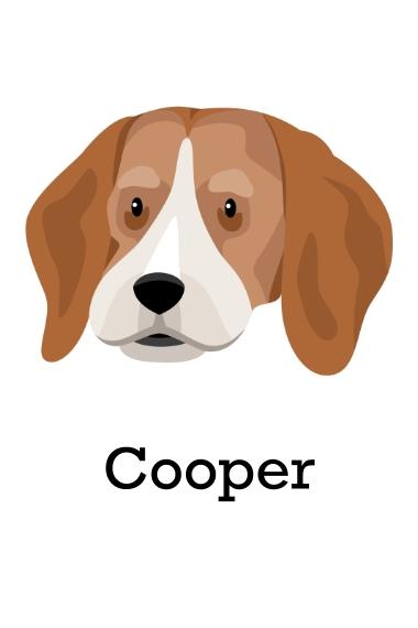 Pet 24x36 Poster , Home Décor -Beagle 1