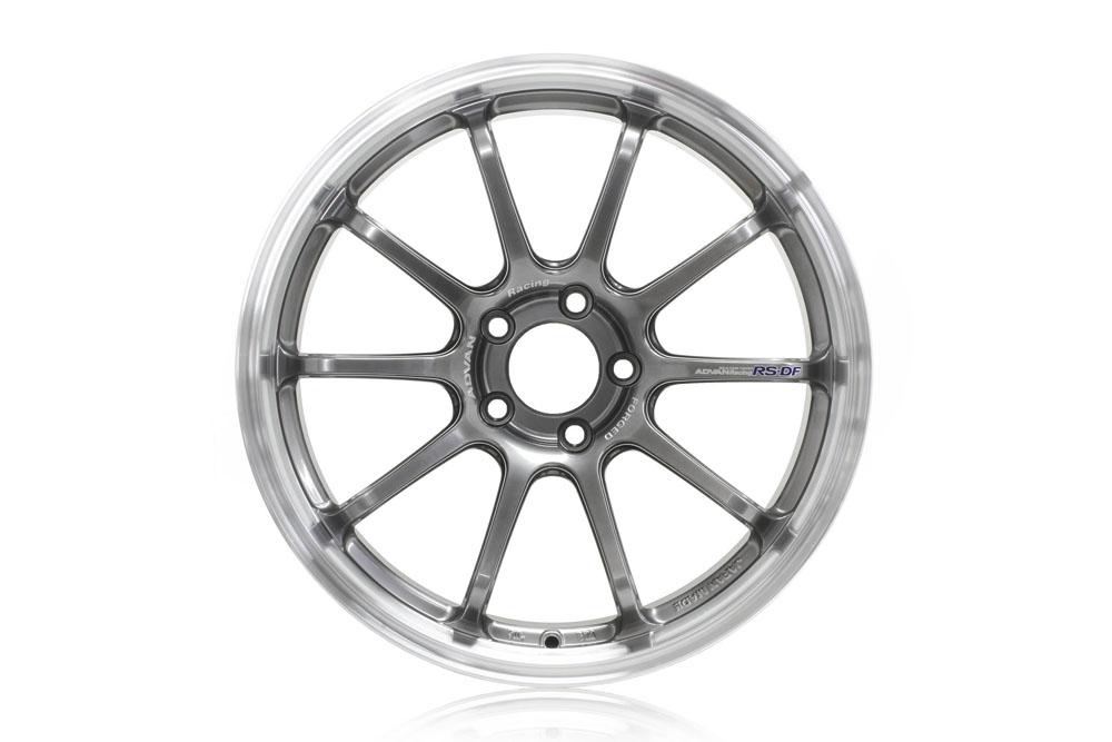 Advan RS-DF Progressive Wheel 18x9.5 5x100 40mm Machining & Racing Hyper Black