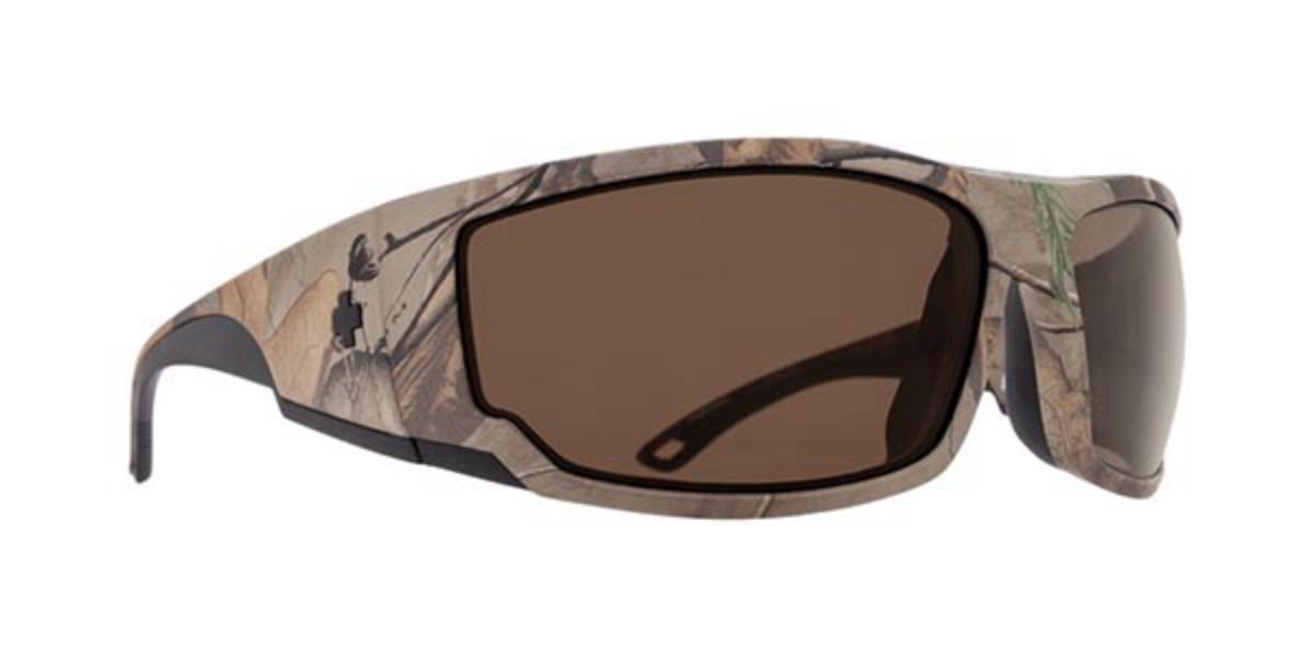 Spy TACKLE Polarized Tackle Spy + Realtree - Happy Bronze Polar Men's Sunglasses Gold Size 69