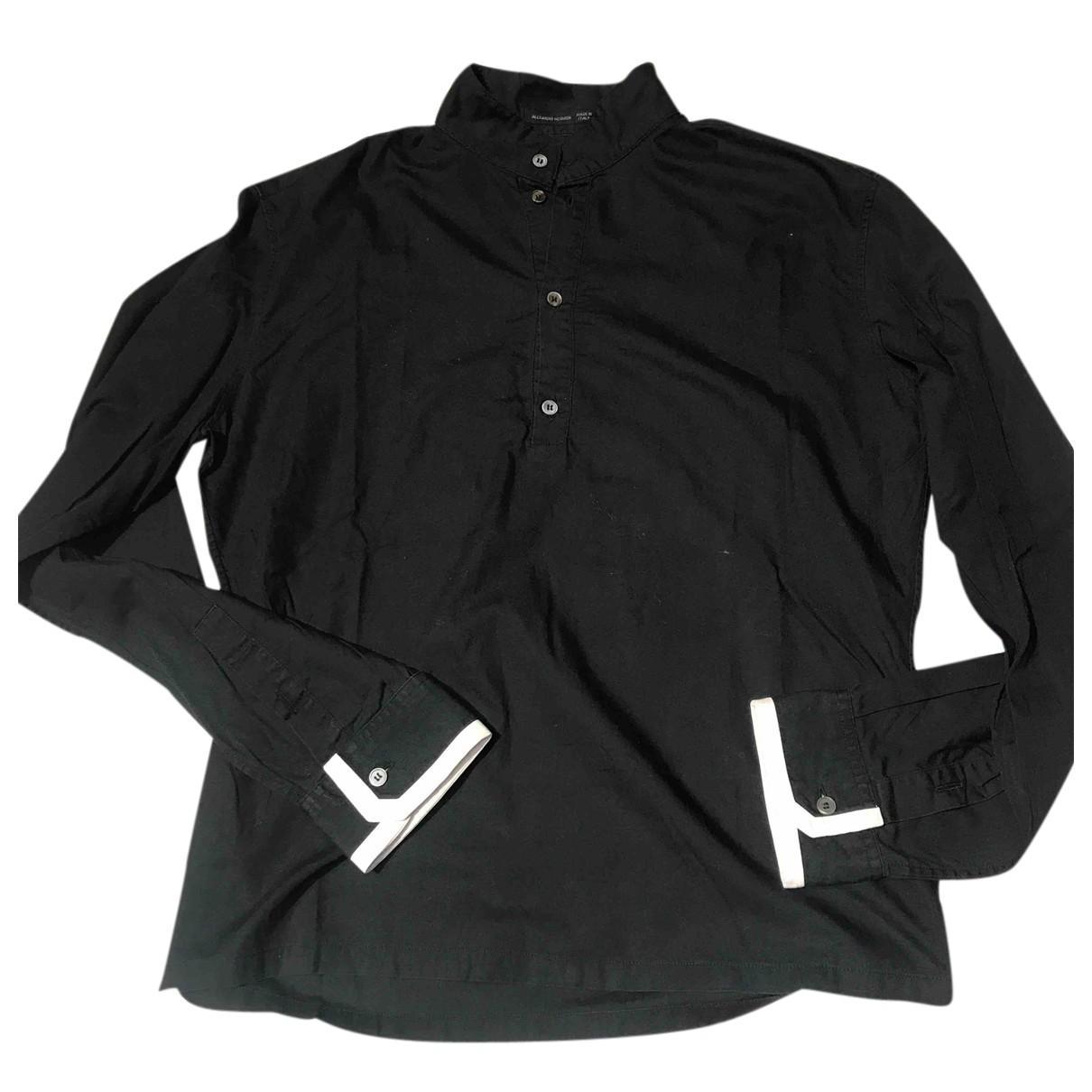 Alexander Mcqueen - Chemises   pour homme en coton - noir