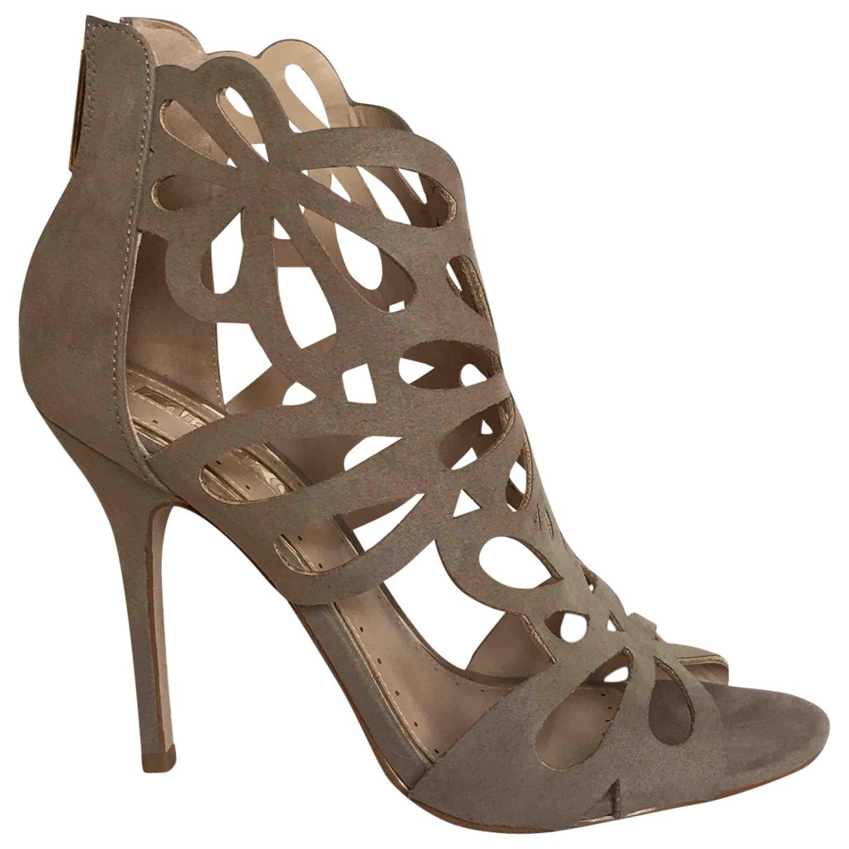 Kurt Geiger \N Beige Cloth Sandals for Women 40 EU