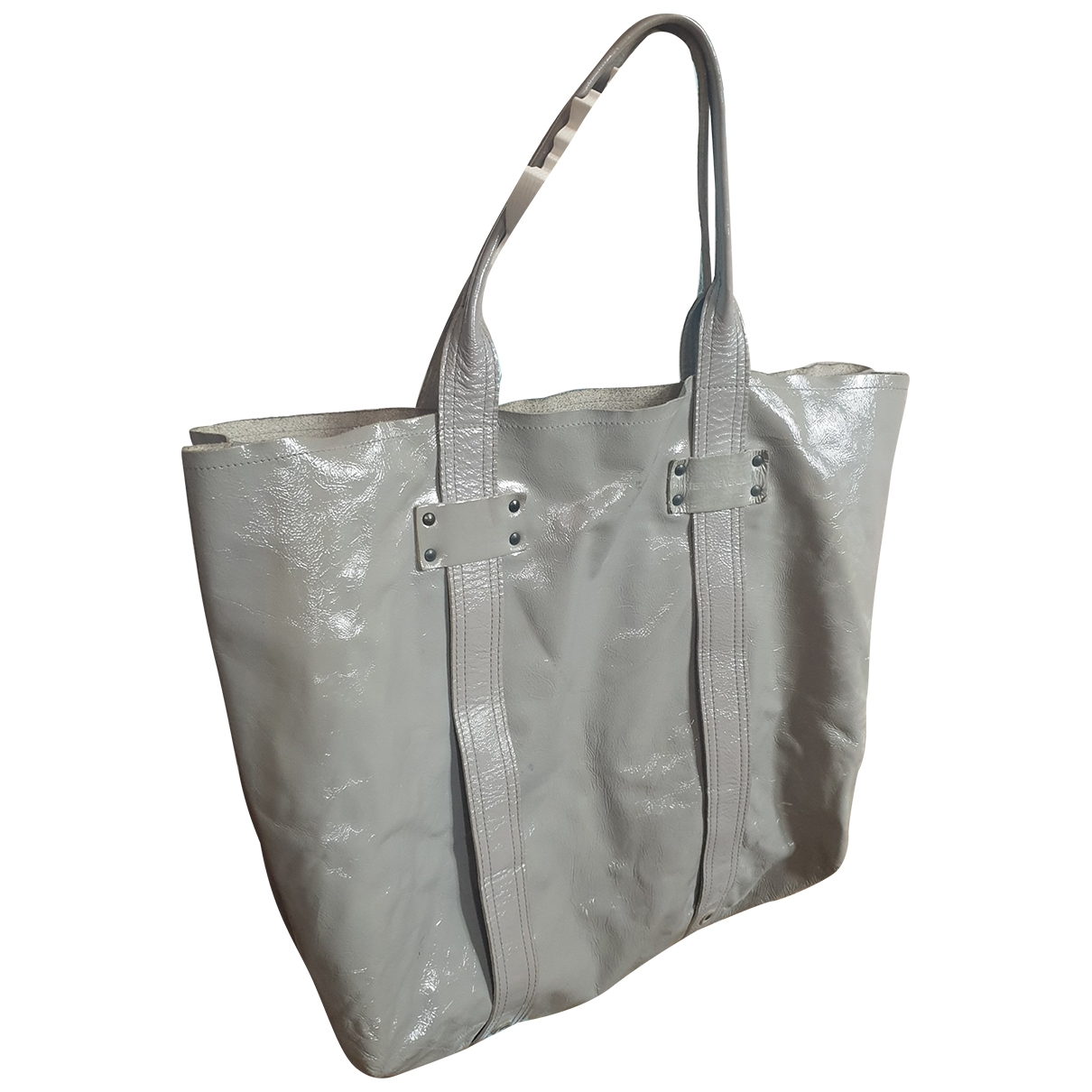 Stephane Verdino \N Grey Patent leather Travel bag for Women \N