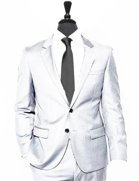 Coming 2018 Wool 2 Button Alberto Nardoni Suit