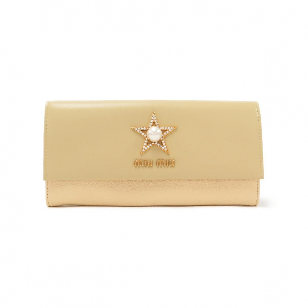 Miu Miu \N Beige Leather wallet for Women \N