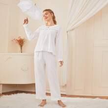 Sets Pijama Escamas Liso Dulce