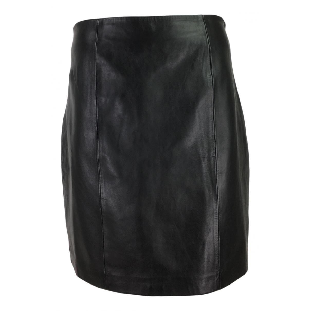 Edited \N Black Leather skirt for Women L International