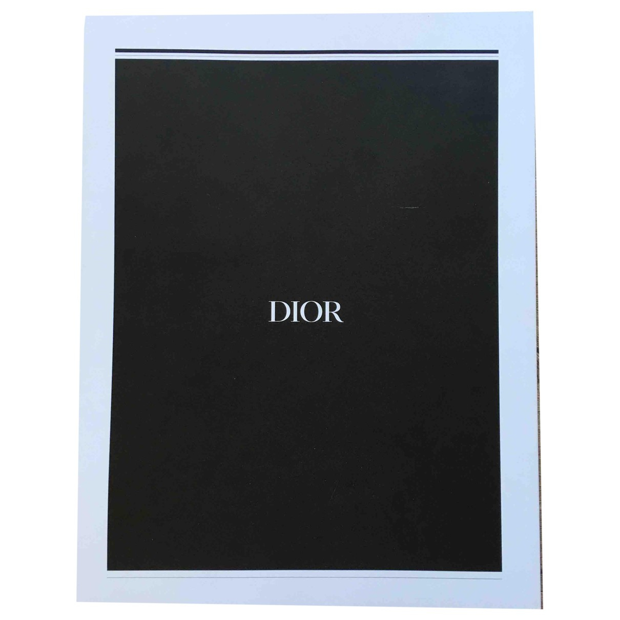 Dior - Mode   pour lifestyle en coton - noir