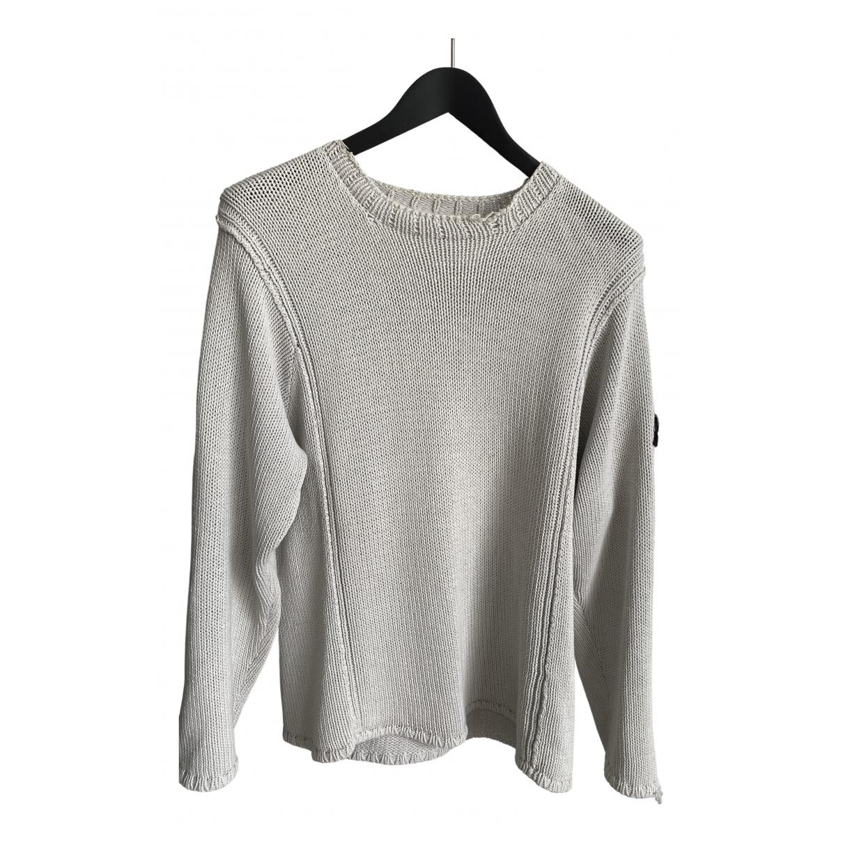 Stone Island \N Beige Cotton Knitwear & Sweatshirts for Men L International