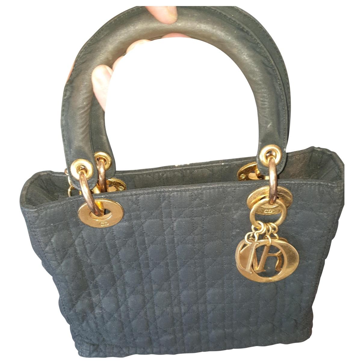 Bolso  Lady Dior de Lona Dior