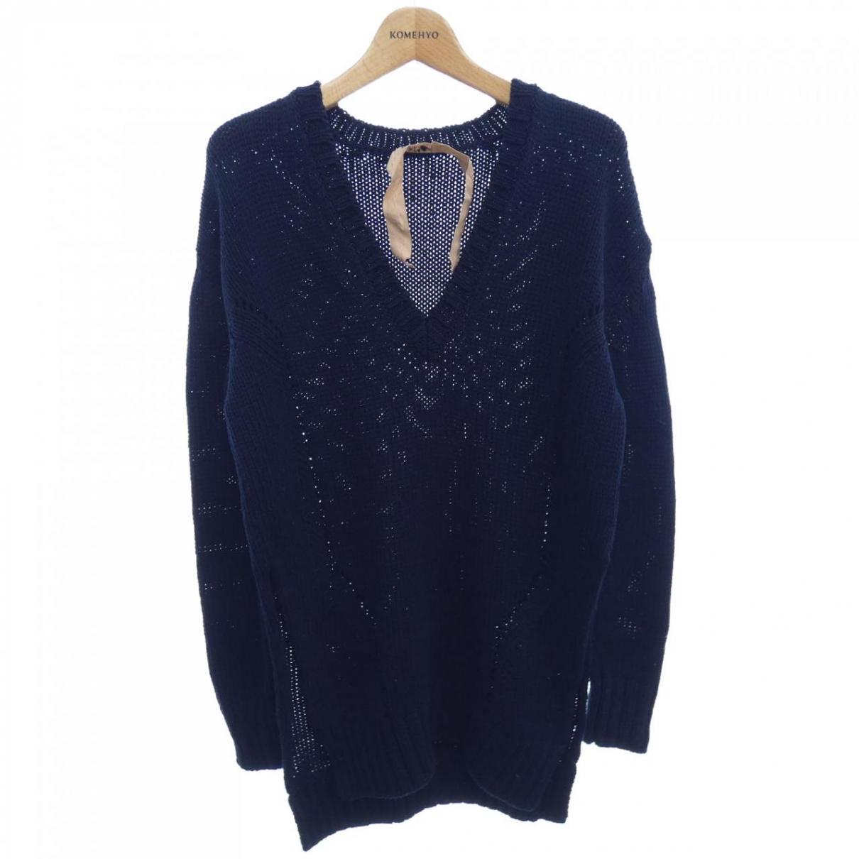 N°21 N Navy Cotton Knitwear for Women 36 IT