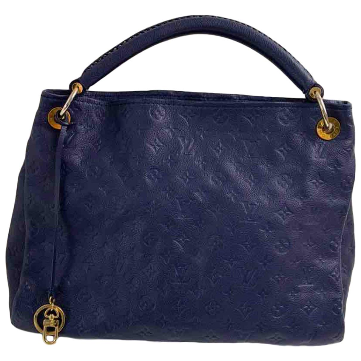 Louis Vuitton - Sac a main Artsy pour femme en cuir - bleu