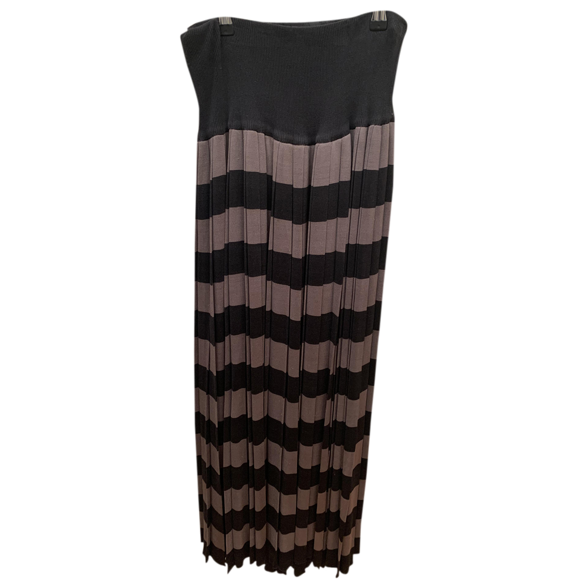 Issey Miyake - Jupe   pour femme en soie - noir