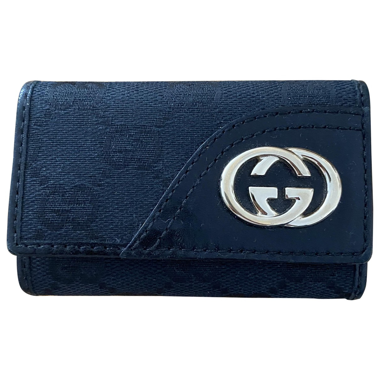 Gucci \N Black Cloth Purses, wallet & cases for Women \N