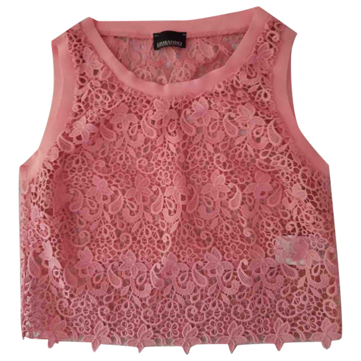 Ermanno Scervino \N Pink Cotton  top for Women 42 IT