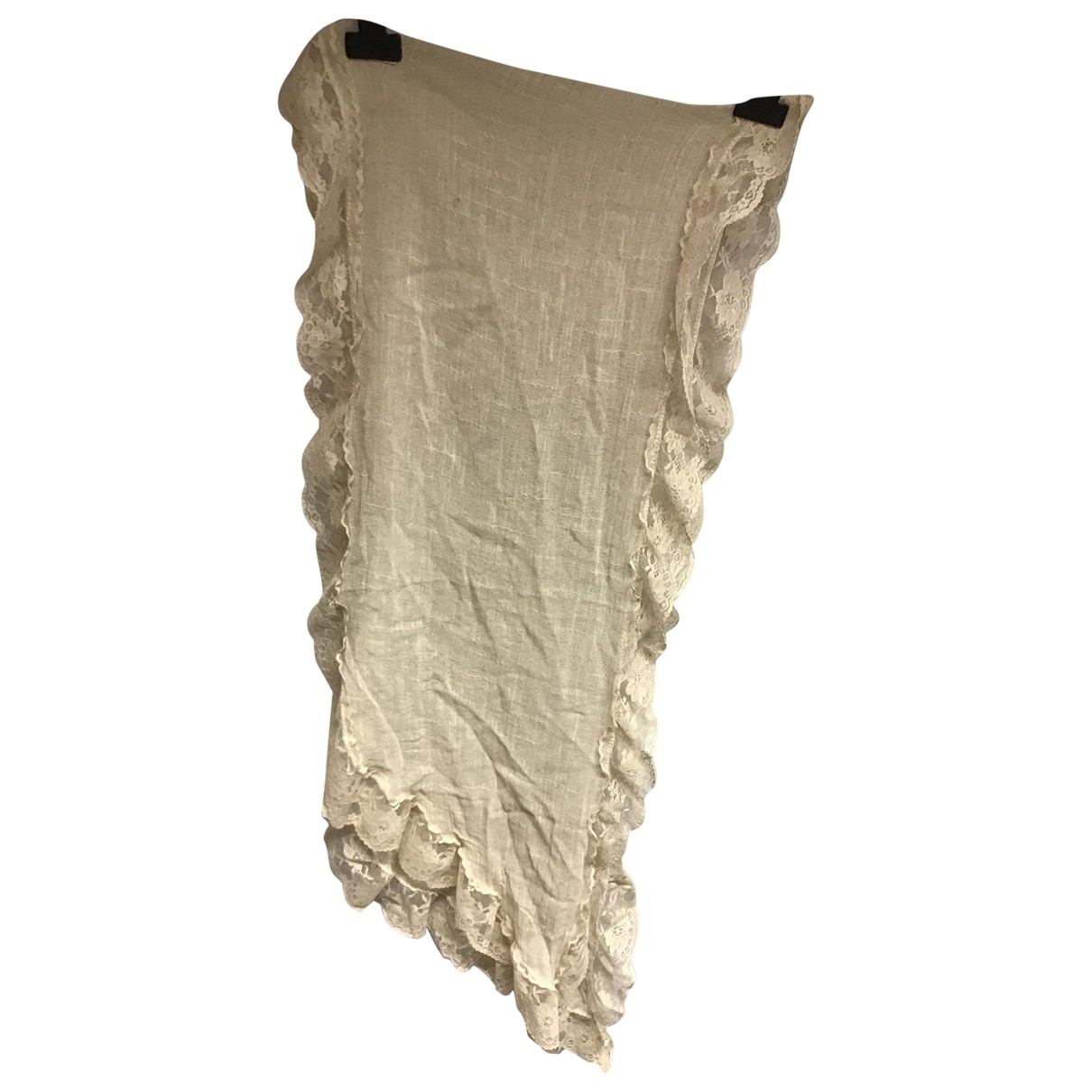 - Foulard   pour femme en autre - ecru