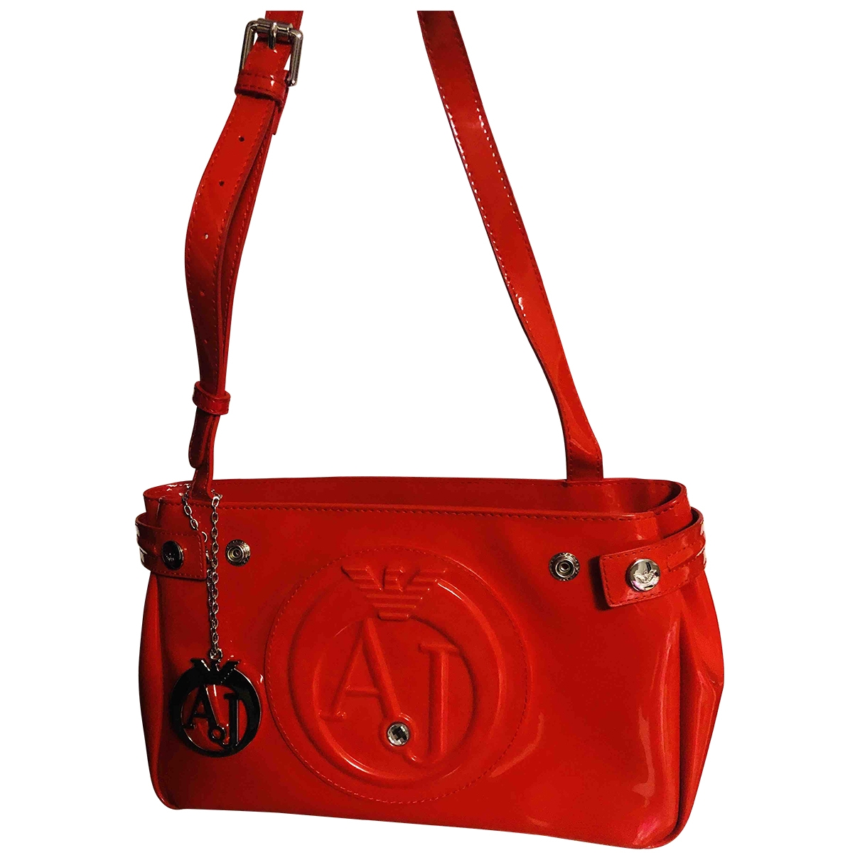 Armani Jeans \N Red Clutch bag for Women \N