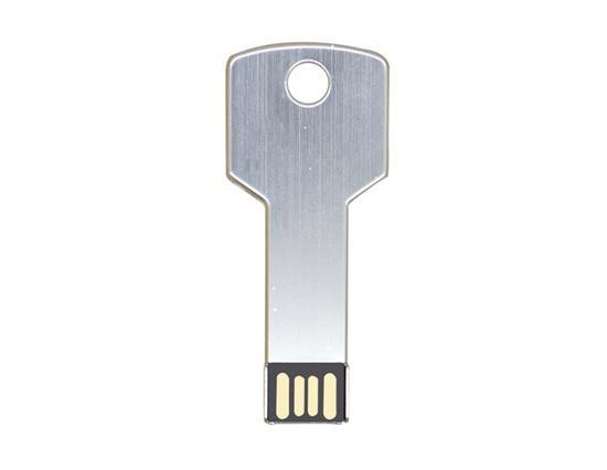 New Fashion Metal Key USB Flash Drive 16GB USB Flash Drive - White