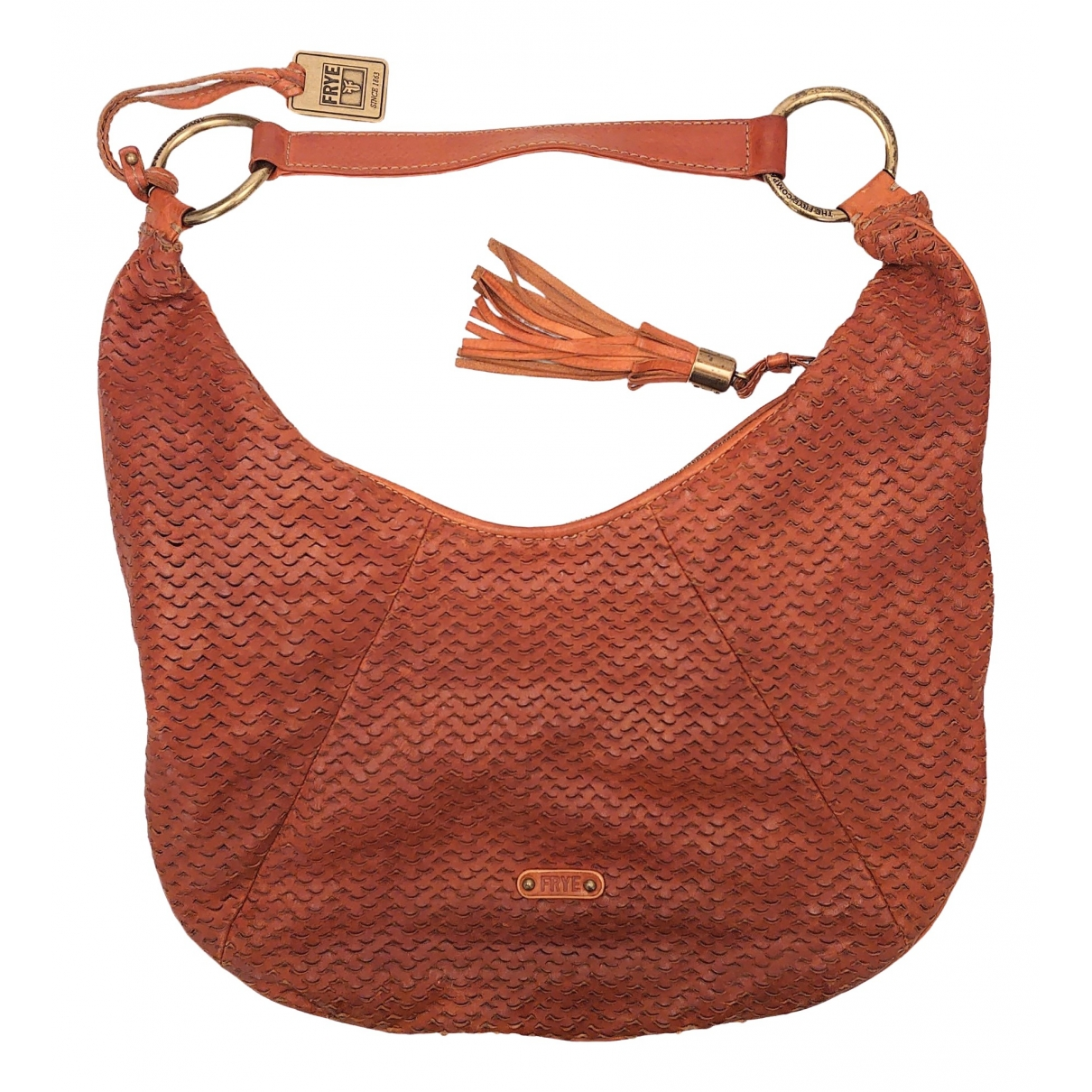 Frye \N Brown Leather handbag for Women \N