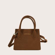 Double Handle Satchel Bag