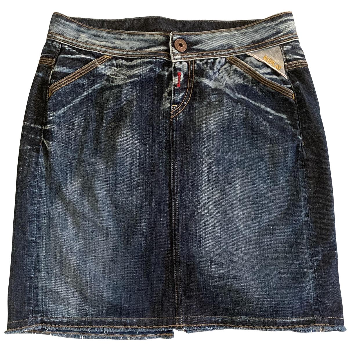 Replay \N Rocke in  Blau Denim - Jeans
