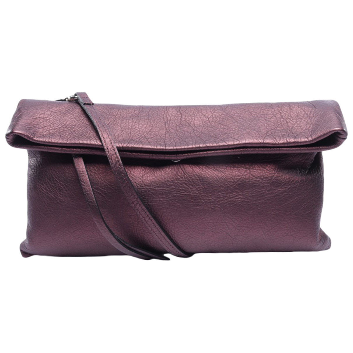 Gianni Chiarini \N Handtasche in  Lila Leder