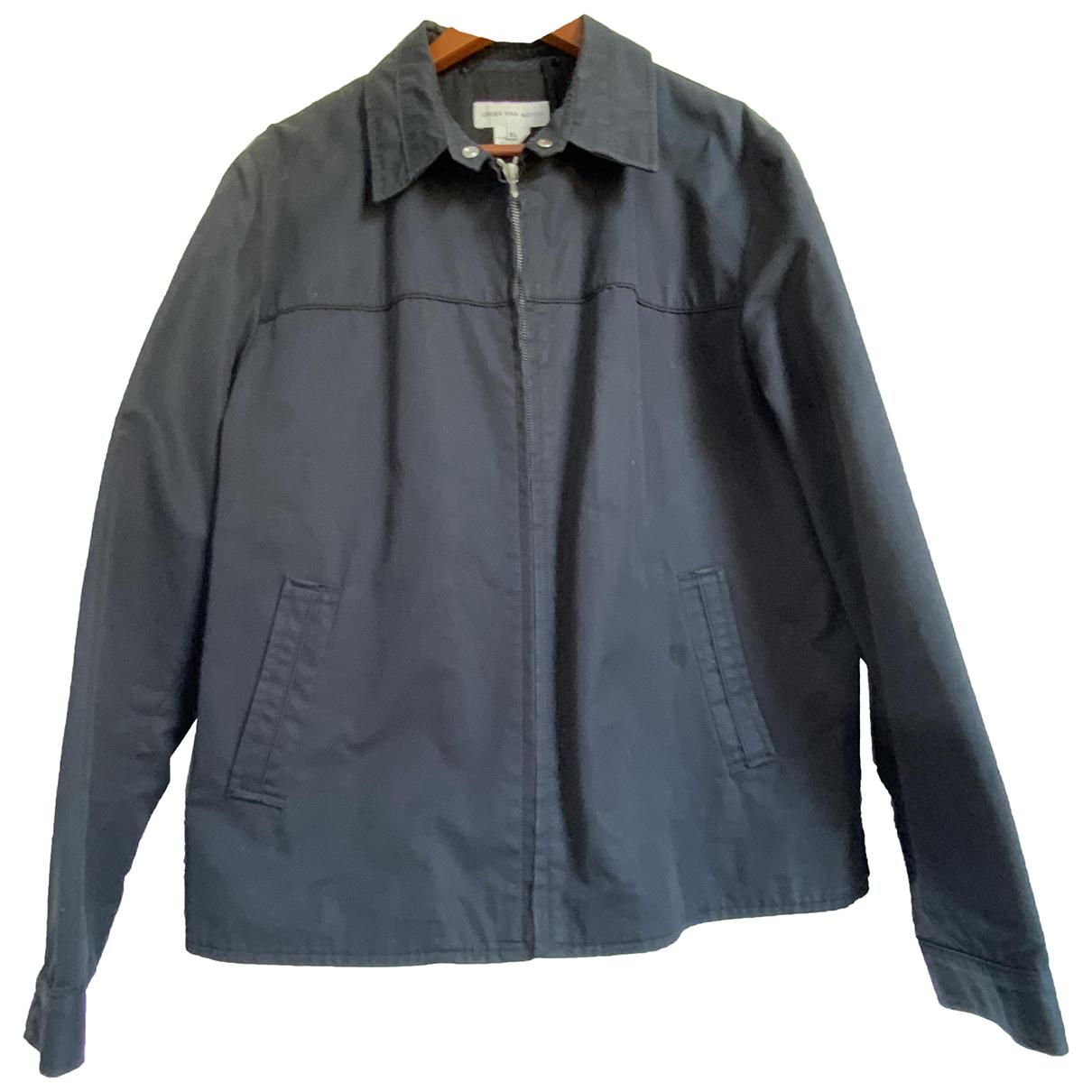 Dries Van Noten \N Black Cotton jacket  for Men XL International