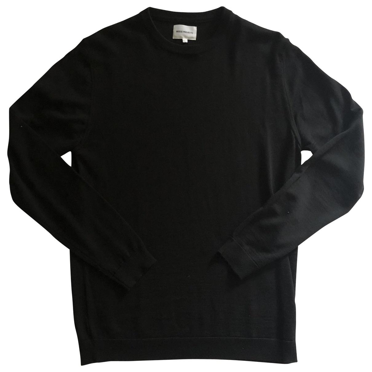 Norse Projects - Pulls.Gilets.Sweats   pour homme en laine - noir