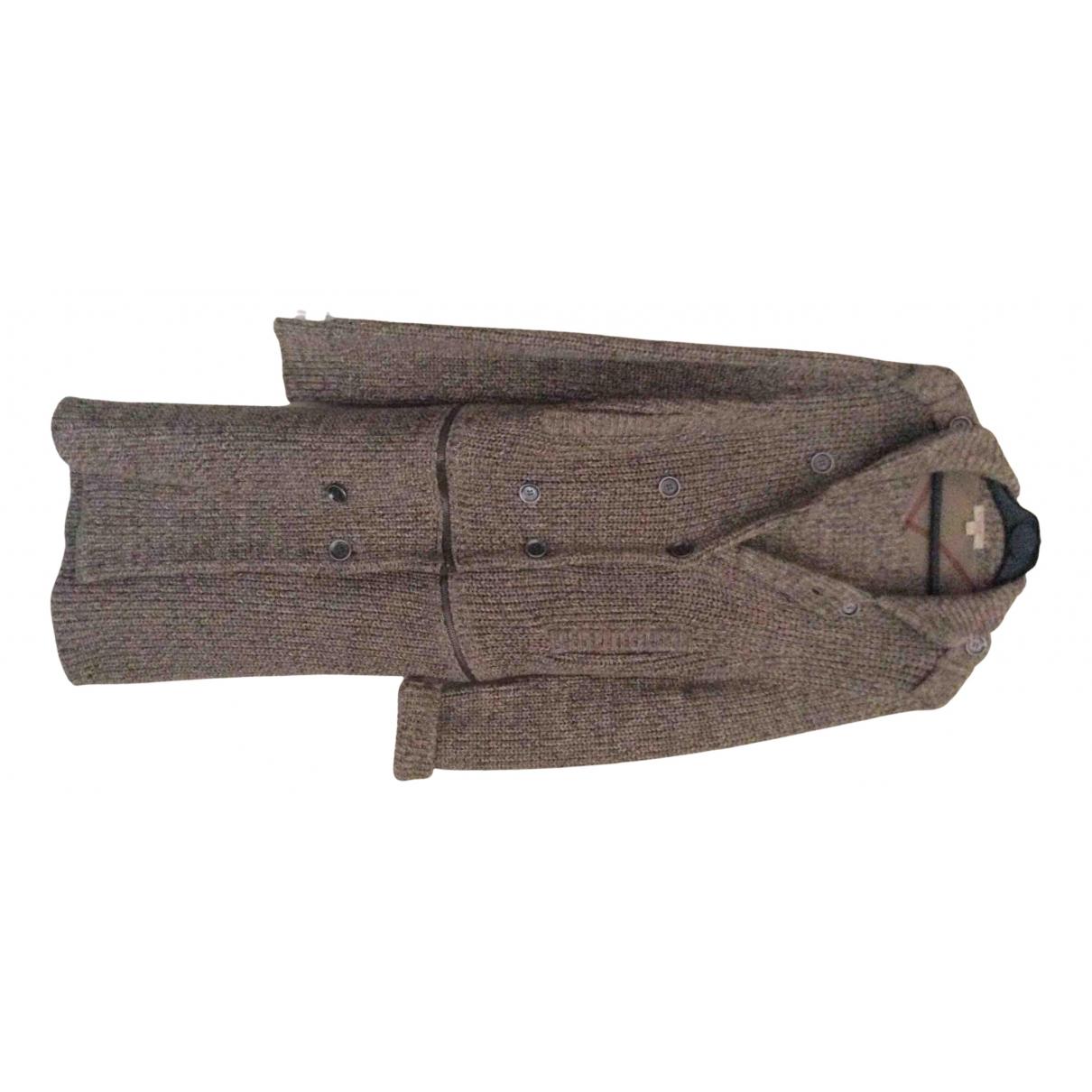 Burberry N Beige Cotton coat for Women 36 FR