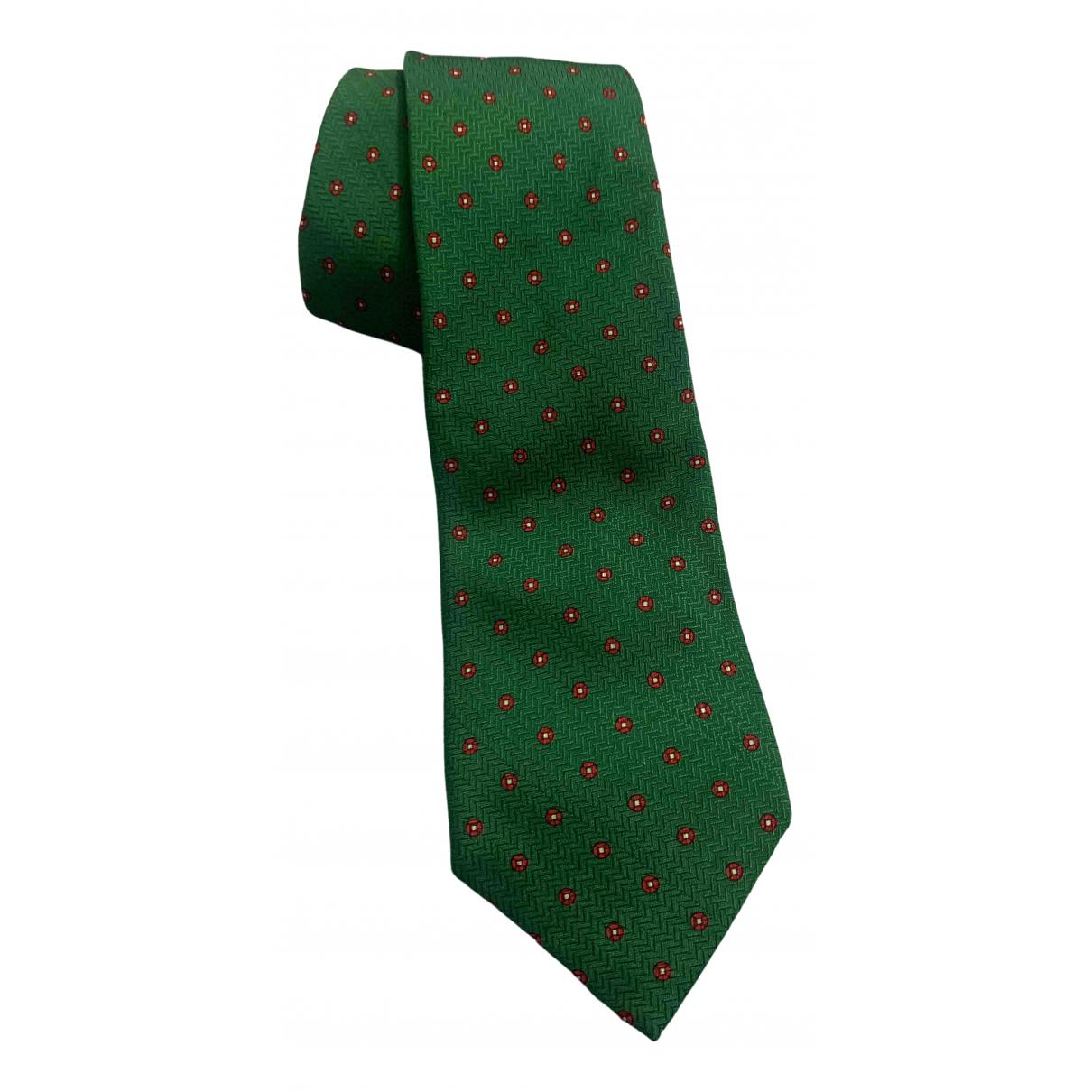Gianfranco Ferre \N Krawatten in  Gruen Seide