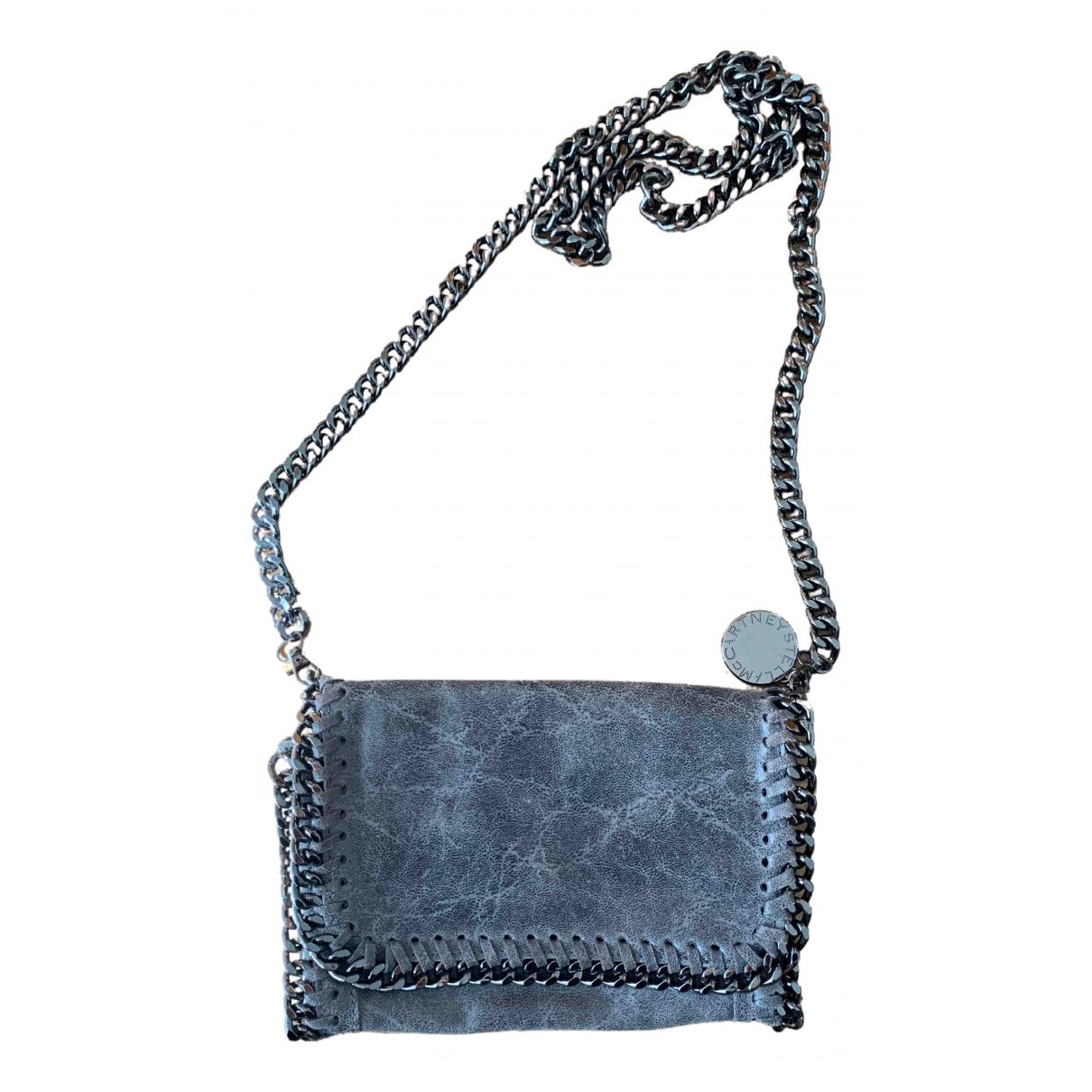 Stella Mccartney Falabella Grey Cloth Clutch bag for Women \N