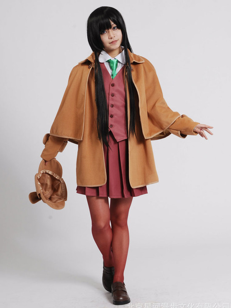 Milanoo Hyoka Chitanda Eru Halloween Cosplay Costume Sherlock Holmes Version Halloween