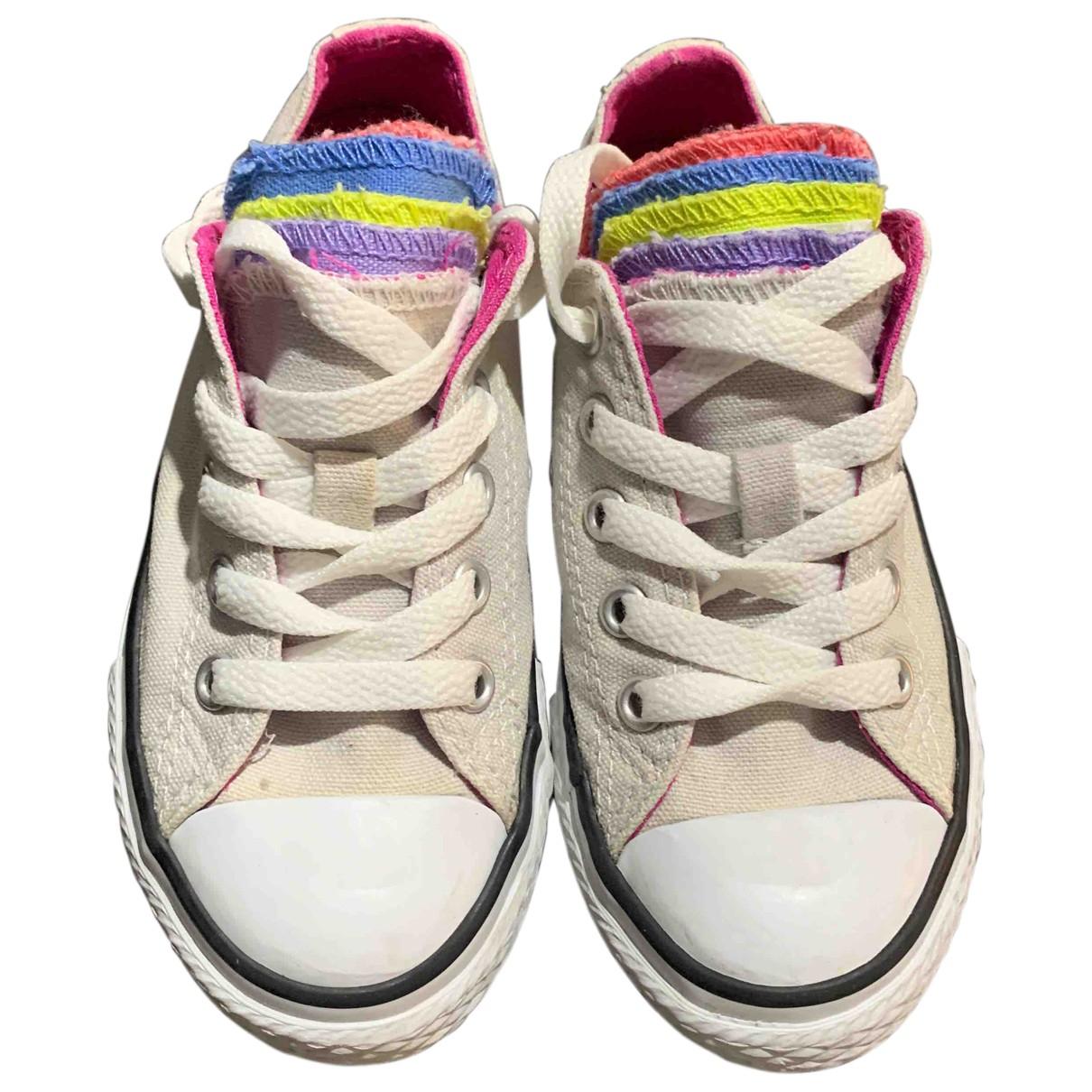 Converse - A lacets   pour enfant en toile