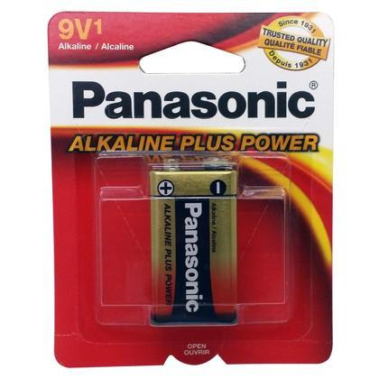 9V Alkaline Battery Single Pack - Panasonic